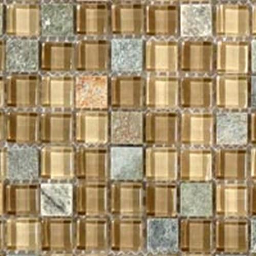 Glass  Slate Series Contemporary Mocha
