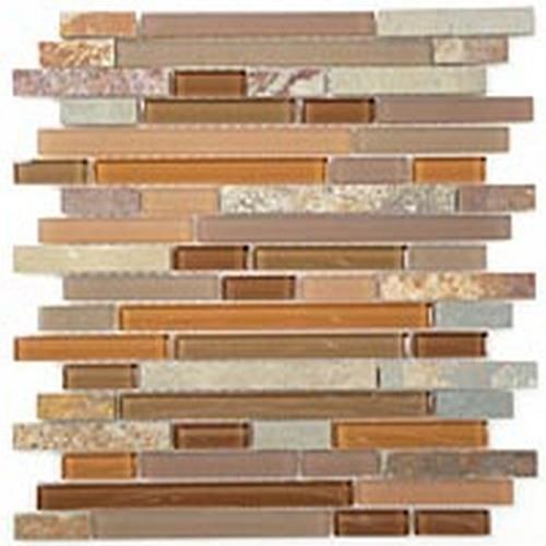 Glass  Slate Series Random Brick Hillcrest Tan