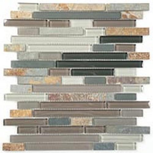 Glass  Slate Series Random Brick Northhampton Putty