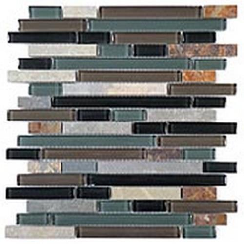 Glass  Slate Series Random Brick Forest Floor