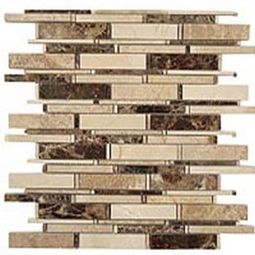 Cascade Series Emperador Dark-Crema Marfil-Emperador Light Mix
