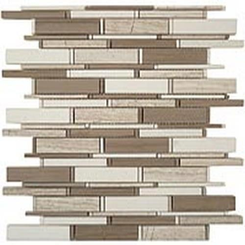 Cascade Series Wooden White-Athen Gray-Thassos Mix