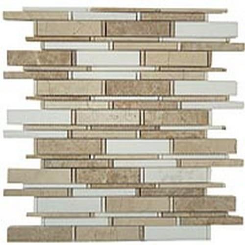 Cascade Series Crema Marfil-Thassos White-Emperador Light Mix