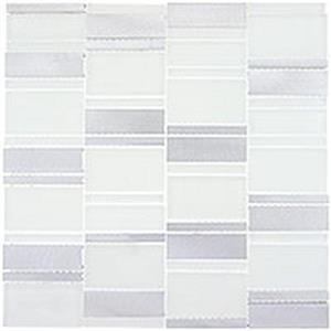 GlassTile CorrugatedSeries CSS121 ArticPlateau