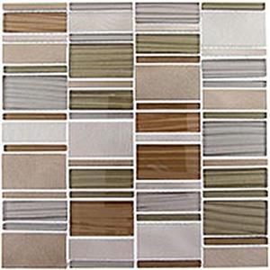 GlassTile CorrugatedSeries CSS123 MustardField