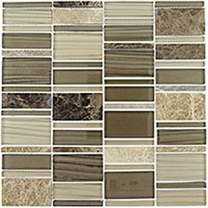 GlassTile CorrugatedSeries CSS124 AlhambraPalette
