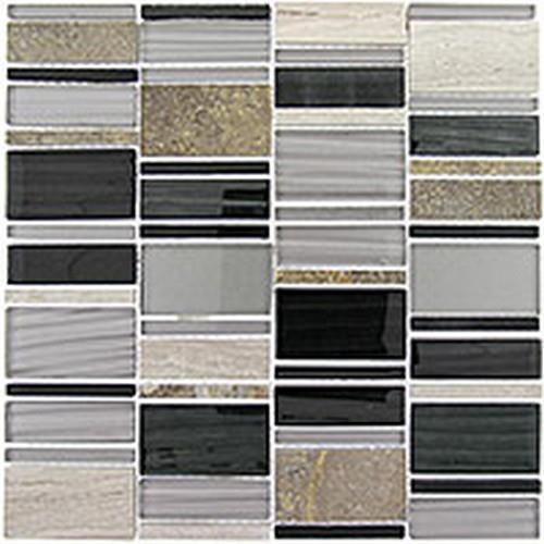 Corrugated Series Ebony Cliff