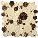 GlassTile Bubble Series Warm Brownie  thumbnail #1