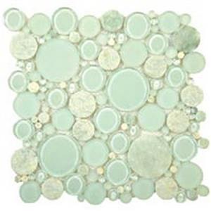 GlassTile BubbleSeries BFS-104 Moonstone