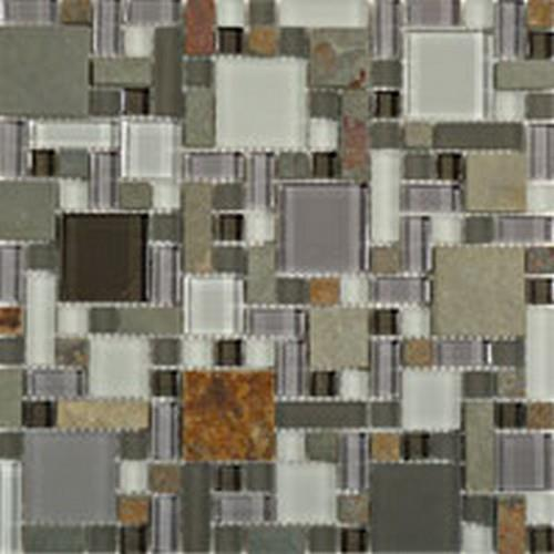 Glass  Slate Block Random Sag Harbor Gray
