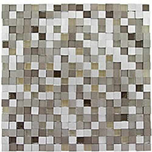 Glazzio Tiles Orbit Series Metallic Weather Glass Tile