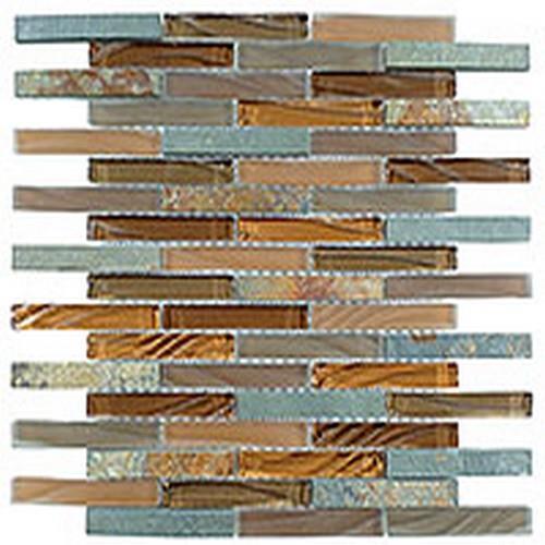 Glass  Slate Brick Hillcrest Tan