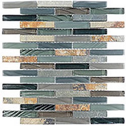 Glass  Slate Brick Forest Floor