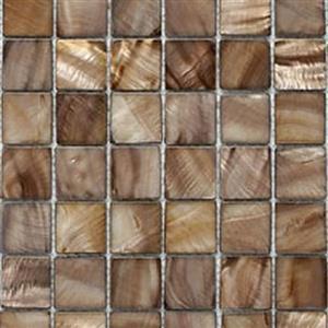 GlassTile ShellSeries S-12 BrownShell