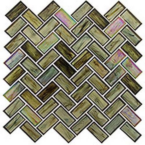 Oceania Series- Herringbone Pattern Nautical Garden