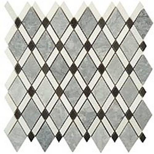 Mugworth(Big Diamond)-Thassos White (Stripes)-Honey Onyx(Small Diamond)