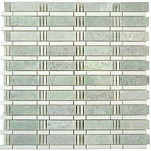 Skyline Series Ming Green- Thassos White Dots