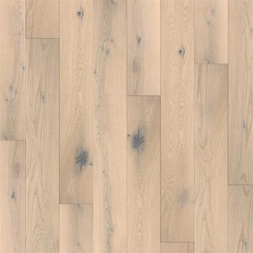 A close-up (swatch) photo of the White Patina flooring product