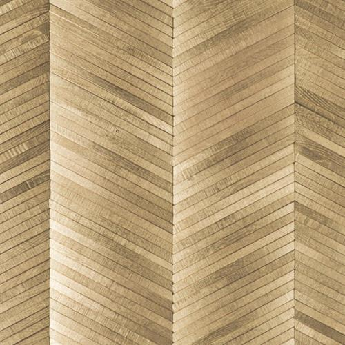 Inceptiv   Ark Chevron in Gold - Hardwood by DuChateau