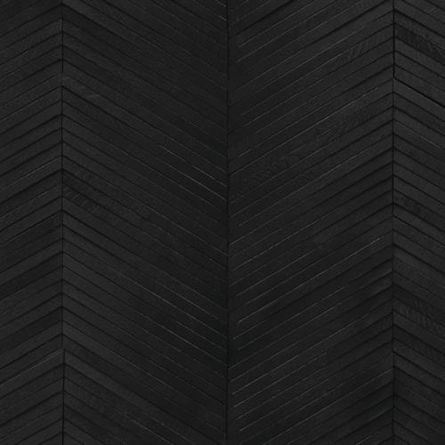 Inceptiv   Ark Chevron in Noir - Hardwood by DuChateau