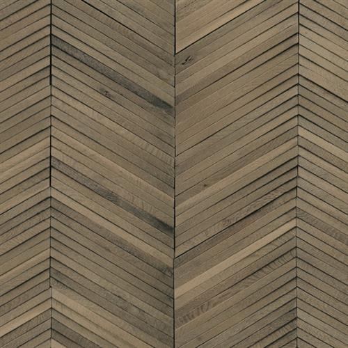 Inceptiv   Ark Chevron in Smoke - Hardwood by DuChateau