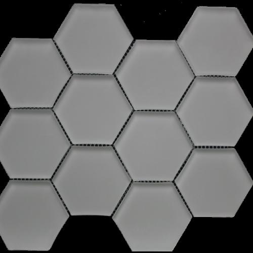 Simpson Desert Glass Hexagon - Doe Skin Matte
