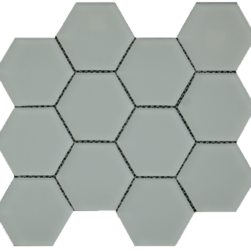 Simpson Desert Glass Hexagon - Alabastro Matte