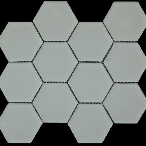 Simpson Desert Glass Hexagon - Alabastro Matte