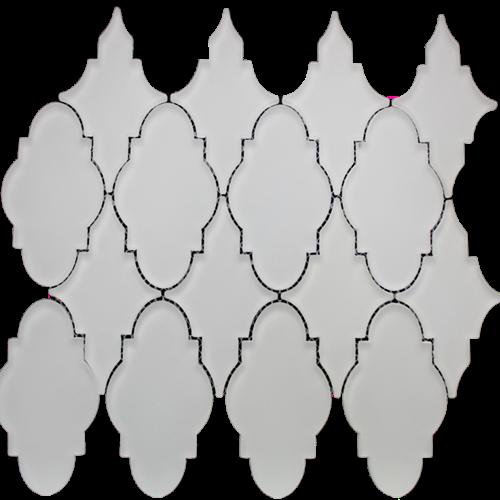 Simpson Desert Glass Trellis - Alabastro Matte