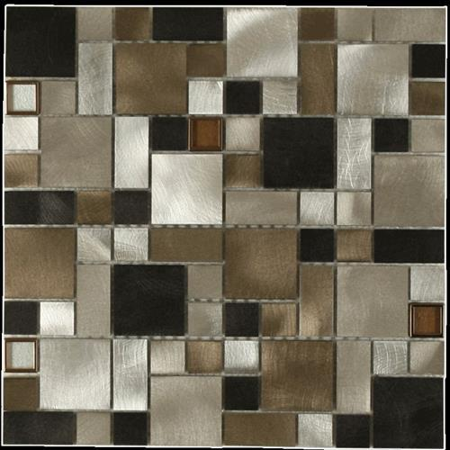MetalTile Victoria Metals Falls Creek Blend - Mini Versi  main image