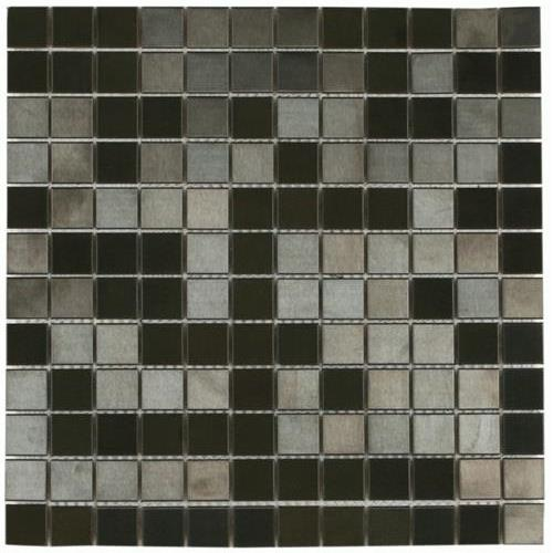 MetalTile Murray River Metals Black - Brushed  main image