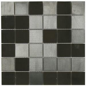 MetalTile MurrayRiverMetals A9302 Black-Brushed