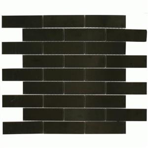 MetalTile MurrayRiverMetals A9402 Black-Brushed