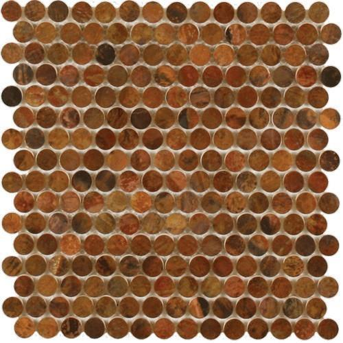 Perth Penny Rounds Antique Copper