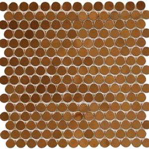 MetalTile PerthPennyRounds A9506 CopperPolished