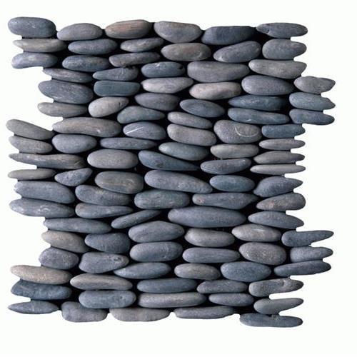 Botany Bay Pebbles - Stacked Black