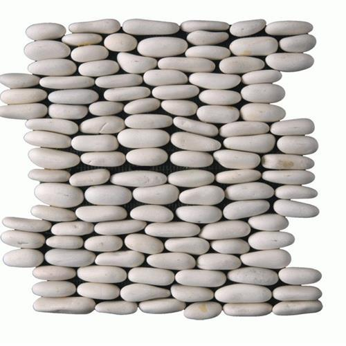 Botany Bay Pebbles - Stacked Cream