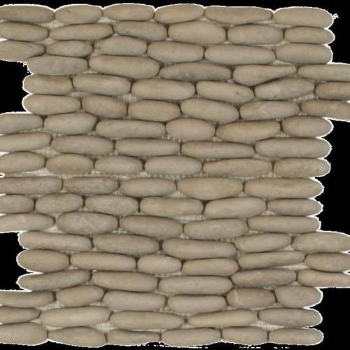 Botany Bay Pebbles - Stacked Khaki