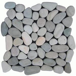 NaturalStone BotanyBayPebbles-Natural Q107 SeaGreen
