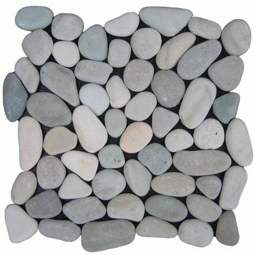 Botany Bay Pebbles - Natural Sea Green