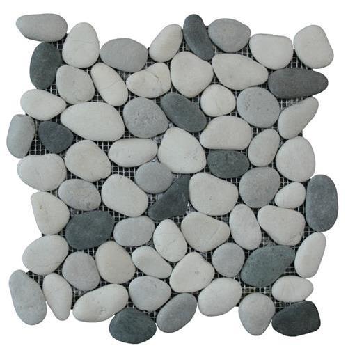 Botany Bay Pebbles - Natural Natural Pebbles - Shadow Blend
