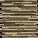 NaturalStone Daintree Exotic Mosaics - Interlock Bianco Carrara /Graystone / Dark Graystone  thumbnail #1