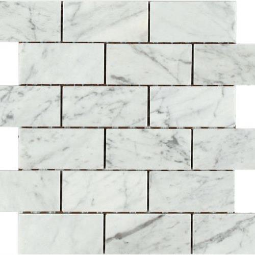 Bologna Mosaics Bianco Carrara
