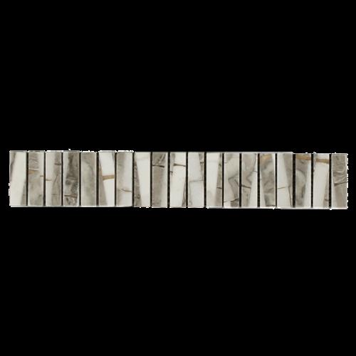 Wollemi Stone Borders  Grigio White Polished