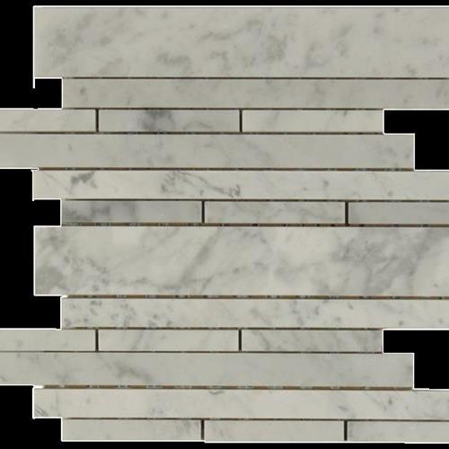 Daintree Exotic Mosaics - Waterfall Bianco Carrara