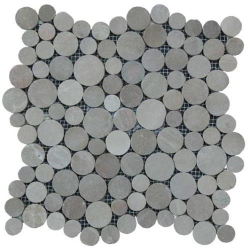 Botany Bay Pebbles - Coin Khaki