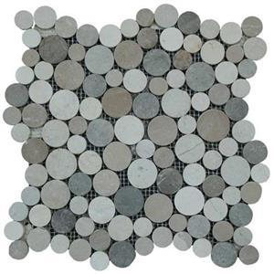 NaturalStone BotanyBayPebbles-Coin Q512 JervisBayBlend
