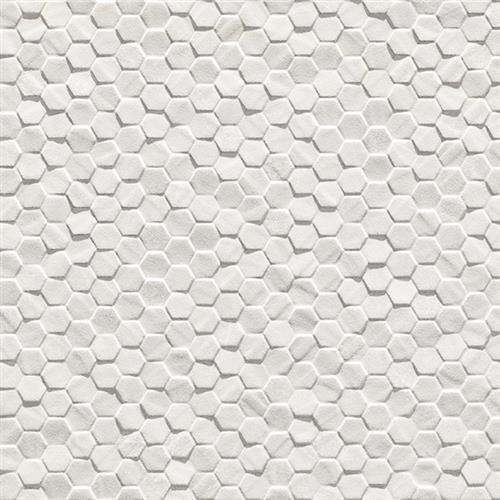Geostone Bianco Hexagon