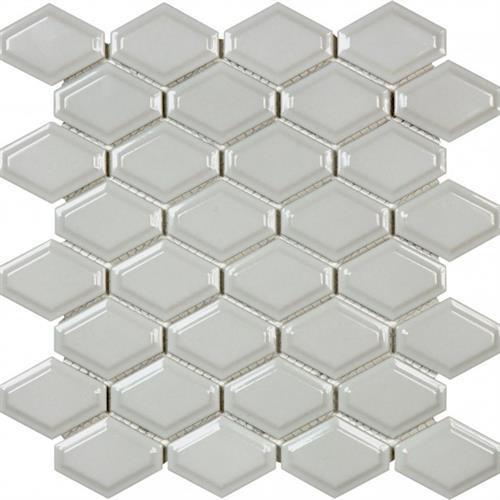 Wall Art/Floor Art Glossy Convex - Warm Grey - 3X6