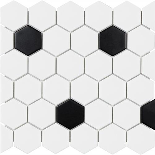 Wall Art/Floor Art Wall Art Matte Hexagon-B 3X16